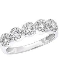 Diana M. Jewels . Fine Jewellery 14k 0.46 Ct. Tw. Diamond Ring - Metallic