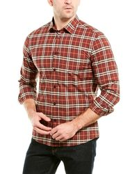 Burberry Vintage Check Woven Shirt - Red