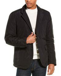 James Perse Puffer Down Blazer - Black