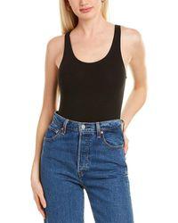 Chaser Lace-up Bodysuit - Black