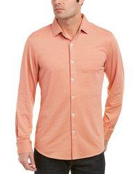 Mizzen+Main - Mizzen+main Austin Medium Trim Fit Woven Shirt - Lyst