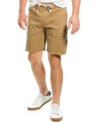 Sol Angeles Twill Saddle Short - Brown