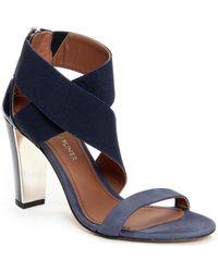 Donald J Pliner Alli Leather Sandal - Blue