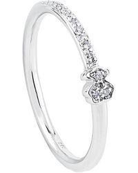 Tous Les Classiques 18k Diamond Ring - Metallic