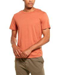 Monrow Relaxed Crewneck T-shirt - Orange