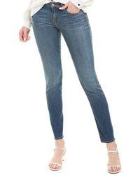 Velvet By Graham & Spencer Toni Classic Skinny Leg - Blue
