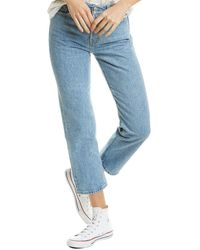 Levi's Wedgie Straight Leg Jean - Blue