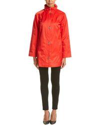 Jones New York Raincoat - Red
