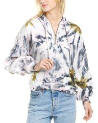 Young Fabulous & Broke Monroe Sweatshirt - White