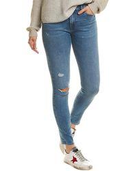 Hudson Jeans Nico Remixing Skinny Leg Jean - Blue