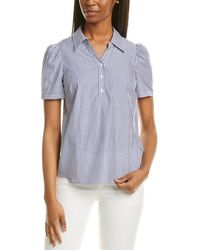 Sail To Sable Button Front Shirt - Blue