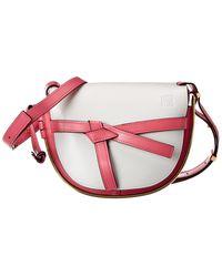 Loewe Gate Leather Shoulder Bag - Multicolor