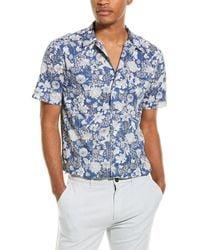 Joules Revere Classic Fit Woven Shirt - Blue