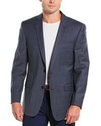 Brooks Brothers Regent Fit Wool-blend Suit Jacket - Blue