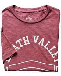 J.Crew | Death Valley Graphic T-shirt | Lyst