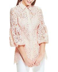 Lela Rose Top - Pink