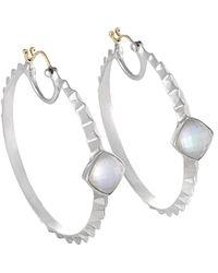 Stephen Webster - 14k & Silver Quartz & Mother-of-pearl Doublet Earrings - Lyst