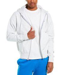 Champion Reverse Weave Full Zip Hoodie - Gray