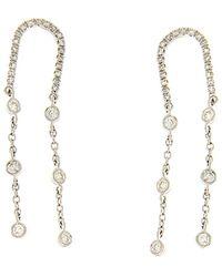 Meira T 14k Gold 0.42 Ct. Tw. Diamond Earrings - Metallic
