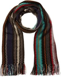 Missoni Wool-blend Scarf - Black