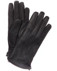 Burberry - Fur Lined Deerskin Gloves - Lyst