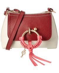 See By Chloé Joan Mini Leather Crossbody - Multicolour