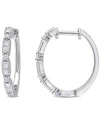 Rina Limor 14k 0.48 Ct. Tw. Diamond Earrings - Metallic