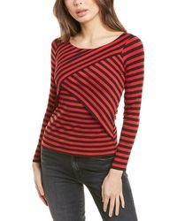 Bailey 44 Juliette Stripe Top - Red