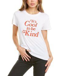 Sub_Urban Riot Sub_urban Riot Cool To Be Kind Loose T-shirt - White