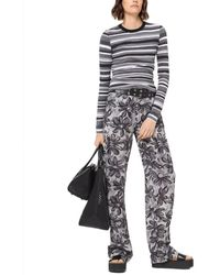 Michael Kors Daisy Silk Pant - Multicolour