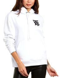 Burberry Monogram Motif Hoodie - White