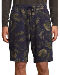 Vince - Printed French Terry Sweat Short - Lyst