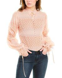 Jonathan Simkhai Lace Bodysuit - Pink