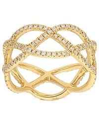 Nephora - 14k 0.75 Ct. Tw. Diamond Ring - Lyst