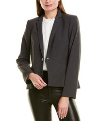 Karl Lagerfeld One-button Jacket - Gray