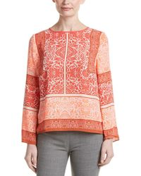 Vince Camuto Petite Blouse - Pink