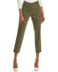 Chaus Dena Zipper Pocket Pant - Green