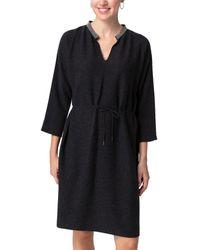 Fabiana Filippi Wool, Silk, & Cashmere-blend Dress - Grey