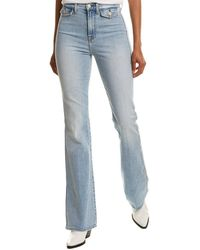 7 For All Mankind 7 For All Mankind A Pocket Vail Flare Leg Jean - Blue