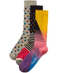 Happy Socks 3pk Socks Gift Box - Multicolour