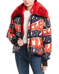 Moncler Plaret Down Coat - Red