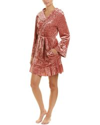 Betsey Johnson - Peace, Love, And Rock N Roll Robe - Lyst