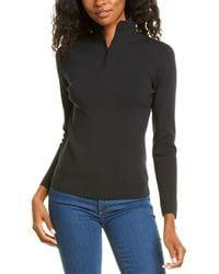 Theory Zip-up Sweater - Black