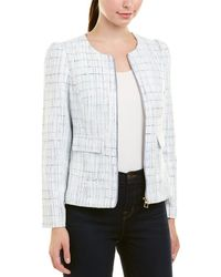 Sail To Sable - Tweed Zip-front Jacket - Lyst