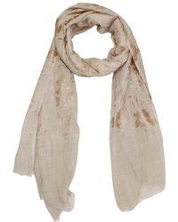 Saachi - Women's Oatmeal Wool & Silk Scarf - Lyst