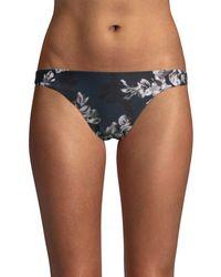 RACHEL Rachel Roy Blossom Bikini Bottom - Blue