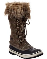Sorel Joan Of Arctic Suede Boot - Brown