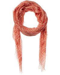J.McLaughlin Giselle Silk-blend Scarf - Pink