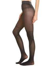 Wolford Electric Affair Tights - Black