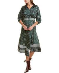 Marella Grazia Midi Dress - Green